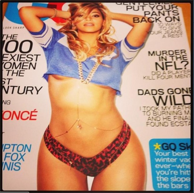 Consider, that beyonce gq cover