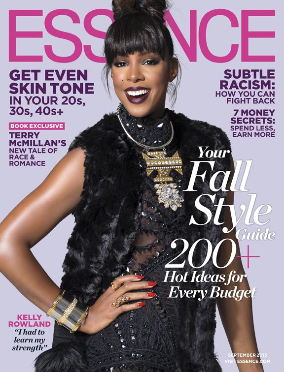 ESSENCE-Magazine-September-2013- Cover-Kelly Rowland-2