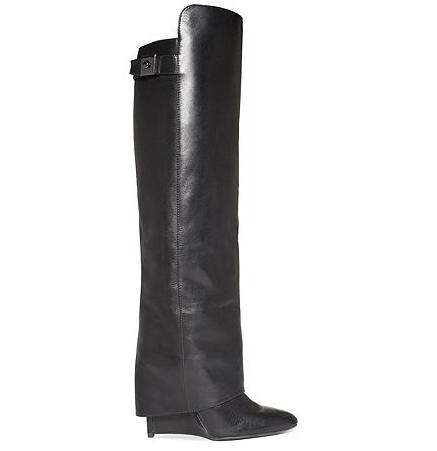Enzo-Angiolini- Boots-Damus- Wedge-Boots-2
