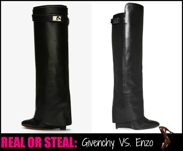 givenchy-black-black-leather-shark-lock-wedge-boots-Enzo-Angiolini- Boots-Damus- Wedge-Boots-2