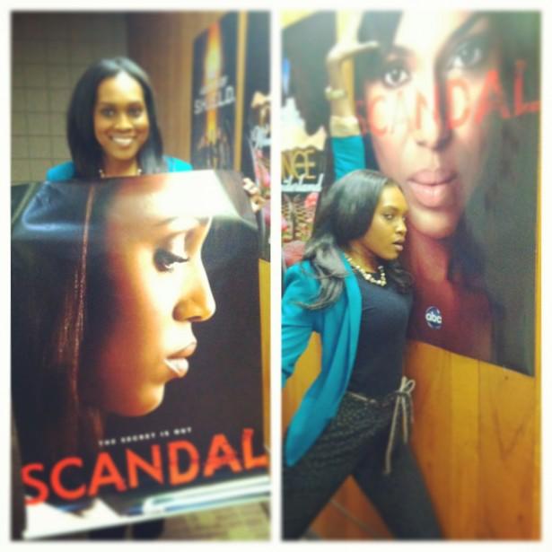 scandal is back