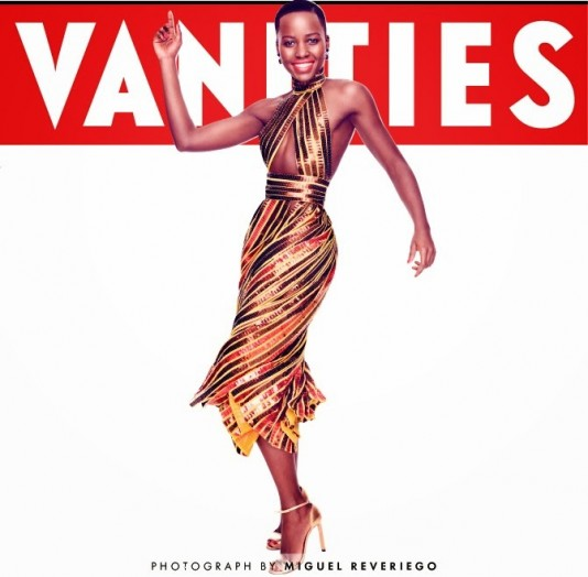 Lupita Nyong'o for Vanity Fair Magazine February 2014