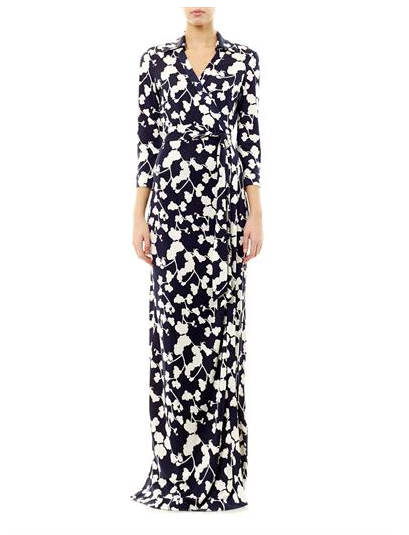 Michelle-Obama-Ryan-Seacrest- Radio-Show-Diane-Von- Furstenberg- Abigail- Wrap-Dress-DVF-Navy-Cream-orchid- print-wrap-dress-4