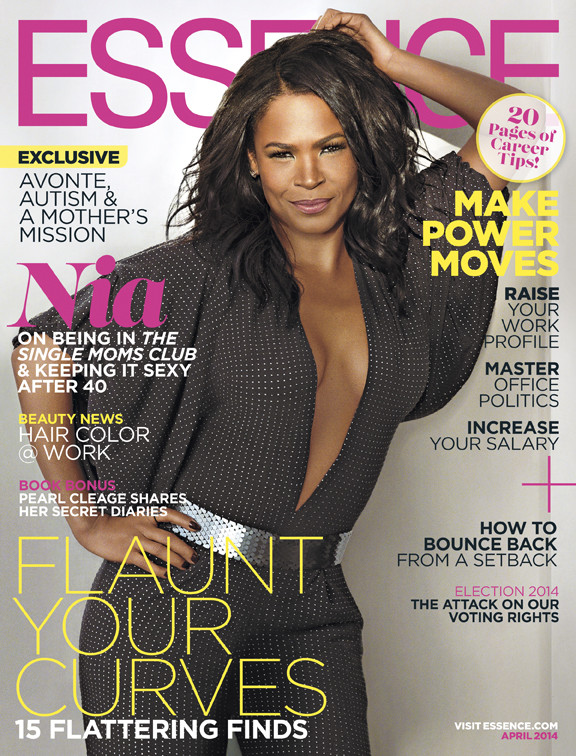 Nia Long for ESSENCE April 2014