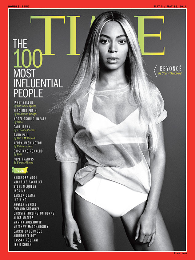 Beyonce- Covers- Time-magazine- 100-Most-Influential-People- Issue-