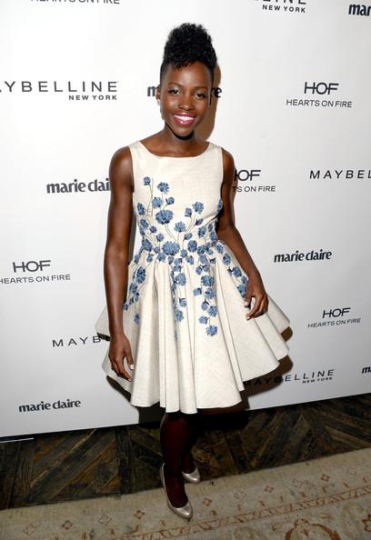 Lupita-Nyongo-Marie-Claire-Fresh-Faces-party-Giambattista-Valli-  Couture-fall-2013-dress-3