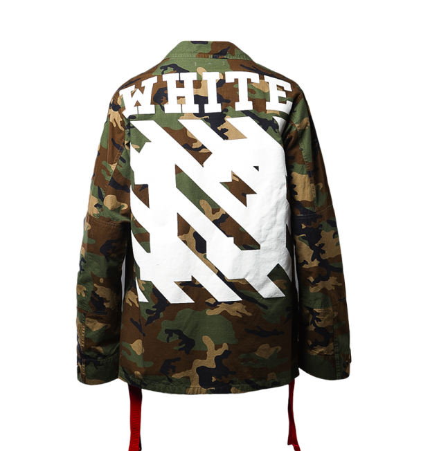 OFF-WHITE c:o Virgil Abloh Field Jacket (Camouflage)2