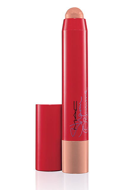 Sharon-Osbourne-Mac-Cosmetics-Innocent-Patentpolish Lip Pencil-
