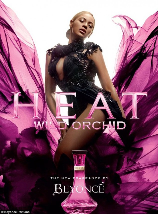 Beyonce Wild Orchid Fragrance Ad