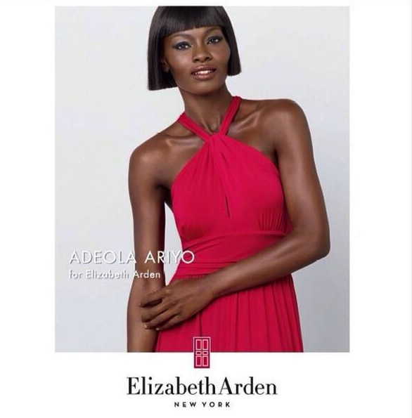 Nigerian-Model- Adeola-Ariyo- Selected-As-Elizabeth-Arden- 1st-African- Ambassador-3