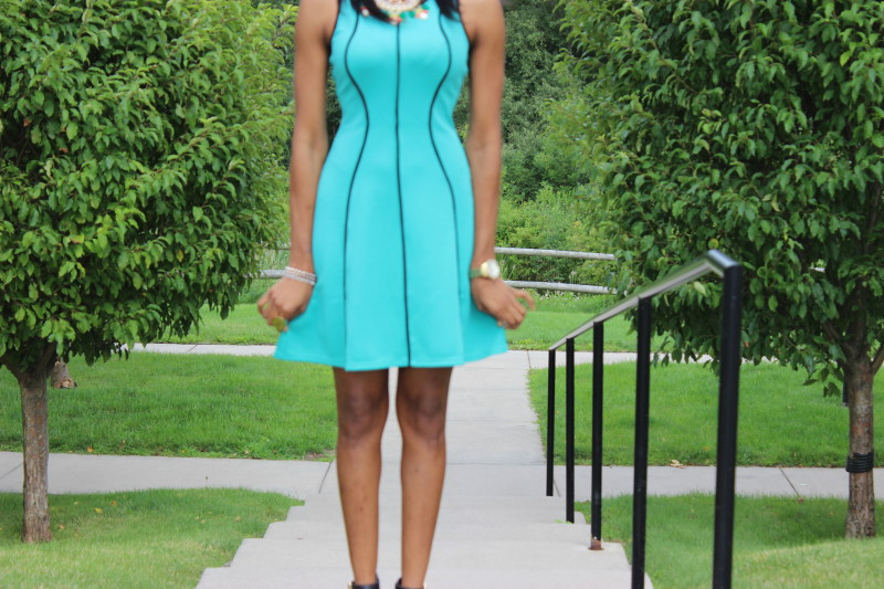 Style-Files-with-pretty-price-Mossimo- Sleeveless-Fit-Flare- Dress- Mossimo-Shari- Ankle-Strap-Heels-Target-Style-Work-Wear-OOTD-WIW-6