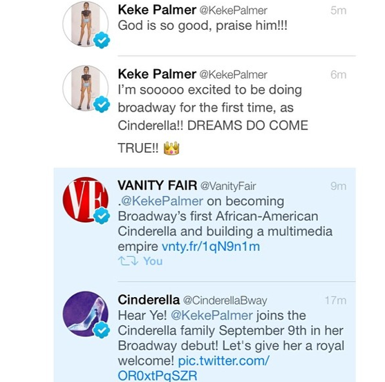 KeKe-Palmer-Will- Play-First-Black- Cinderella-on- Broadway-2