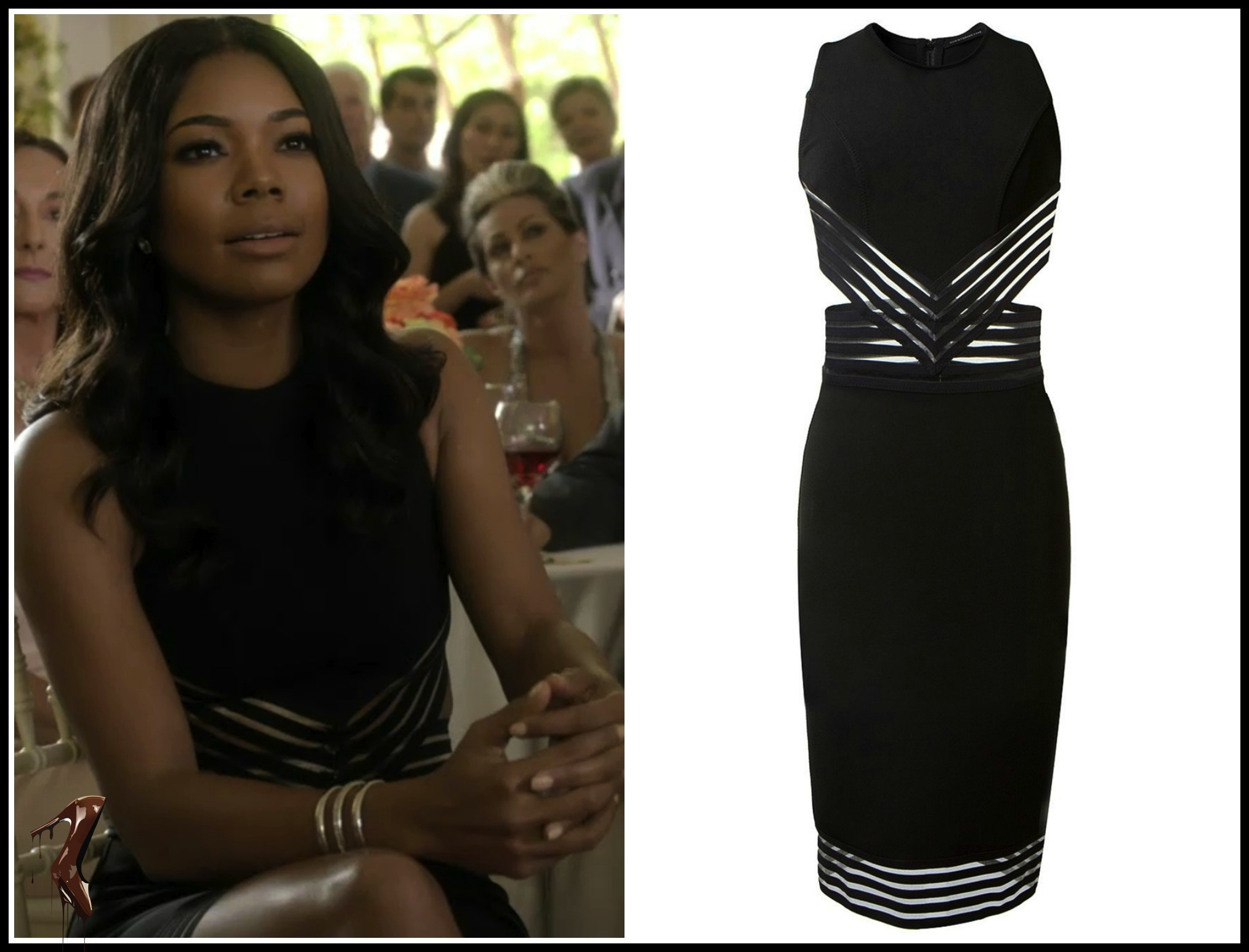Mary Jane Paul Sizzles in Christopher Kane Cut Out Pencil Dress #BeingMaryJane-13