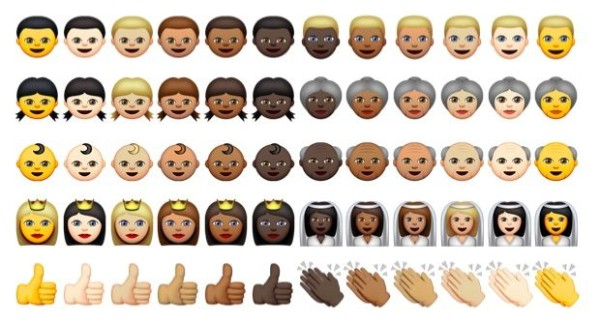 Racially Diverse Emojis are on The Way