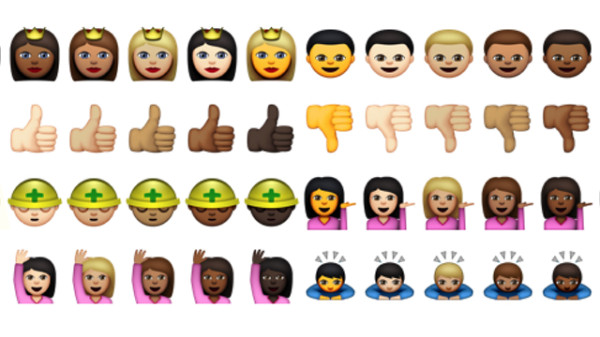 Racially Diverse Emojis are on The Way2