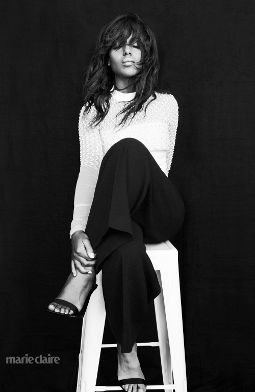 Kerry Washington Is Flawless For Marie Claire April 2015-2