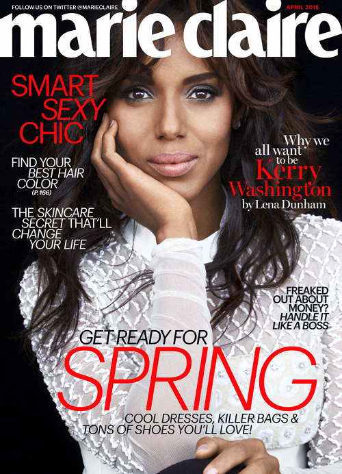 Kerry Washington Is Flawless For Marie Claire April 2015-3