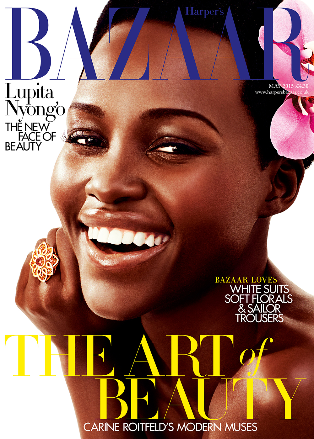 Flawless-Harpers- Bazaar-UK-Proclaims Lupita-Nyongo-As- The-New-Face-Of- Beauty-In-May-2015- Issue
