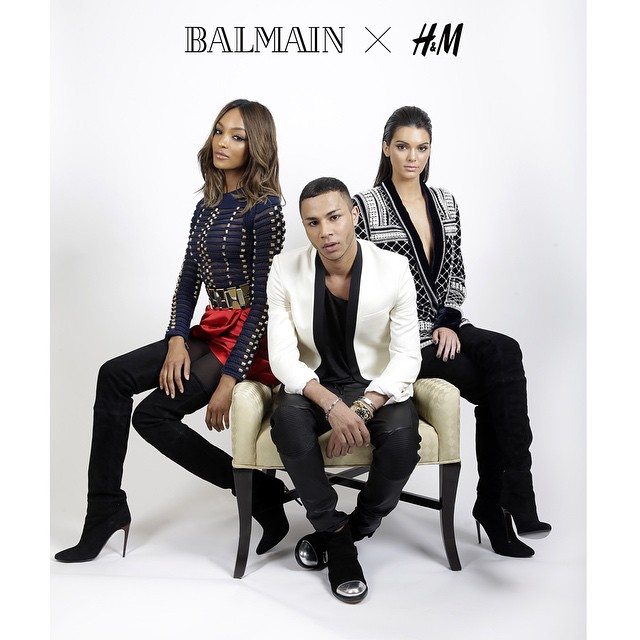 Balmain-Paris- and-H&M- Collaboration- #HMBalmaination-