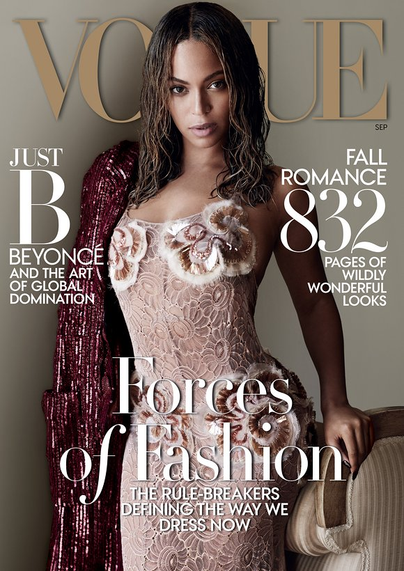 Beyonce Makes History As Vogue September 2015 Cover Girl-4