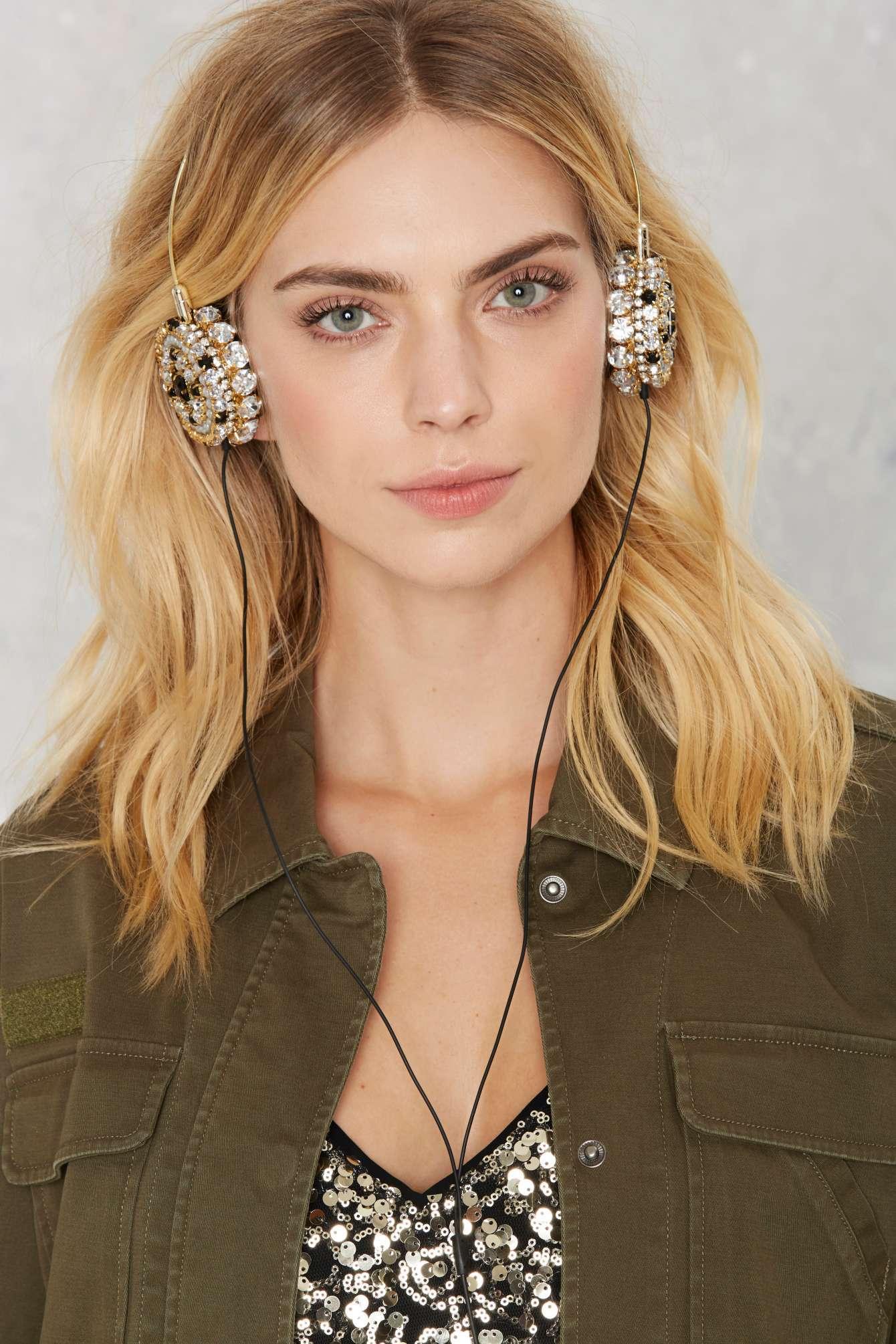 Nasty-Gal-Skinnydip London-Zara -Martin- Bling-Headphones-
