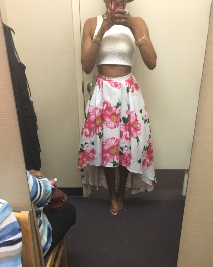 My Michelle-Sleeveless-Lace-Top-Floral-Print-High-Low-Skirt -2-pc-3