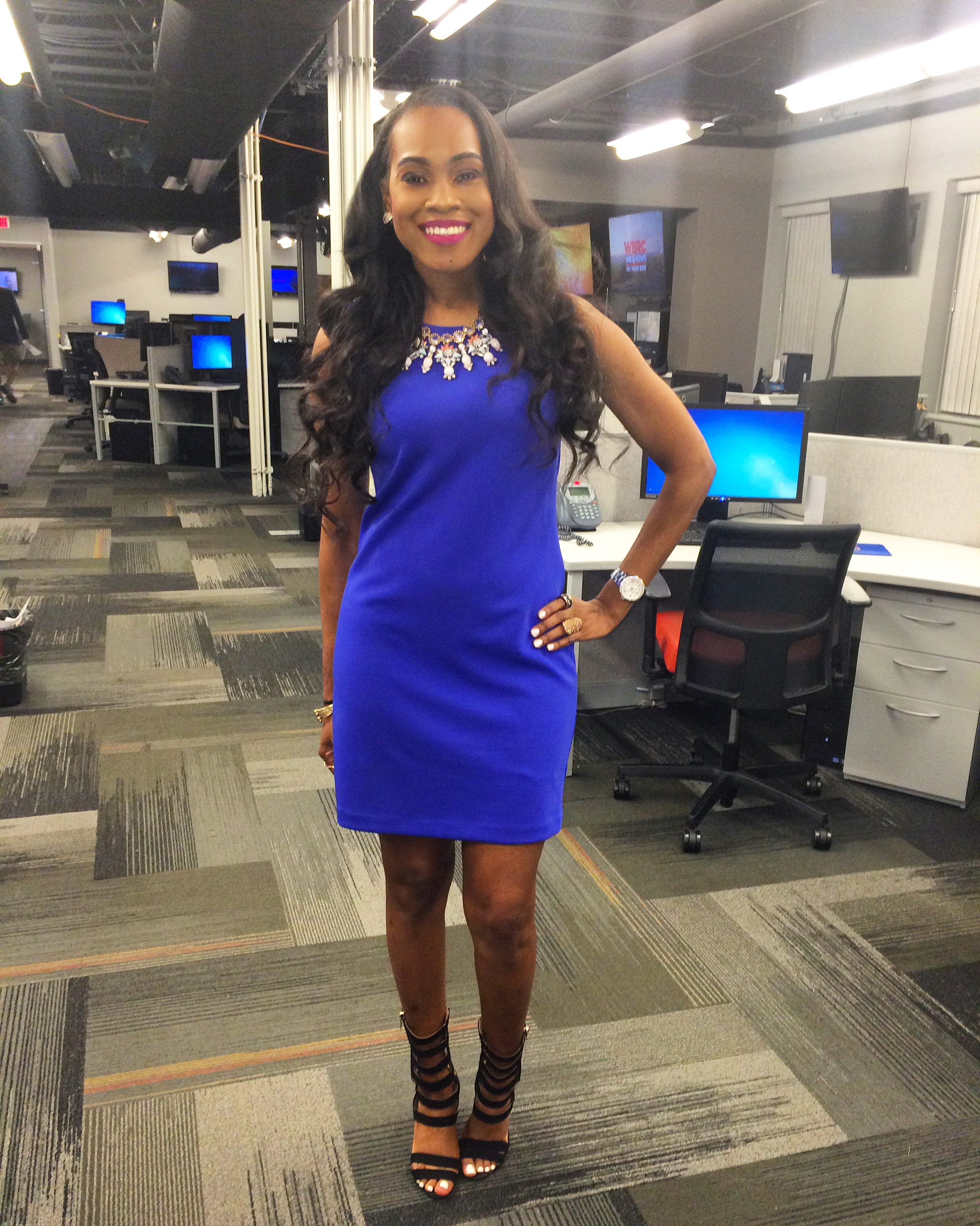 Style-Files-jcpenney-worthington sleeveless-blue-purple-sheath dress exposed-zipper-oohlalablog-3