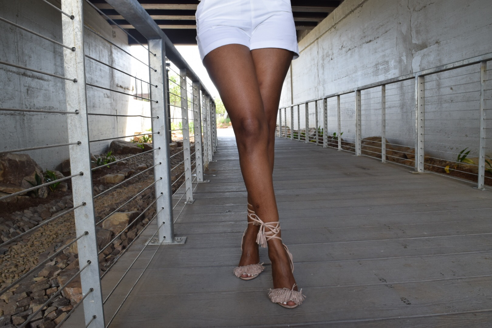 Style-files-Forever-21-Nude-Sheer-Sequin-top-White-forever-21-high-waist-short-justfab-nude-fringe-sandals-mac-cosmetics-volt-lipstick-oohlalablog-5