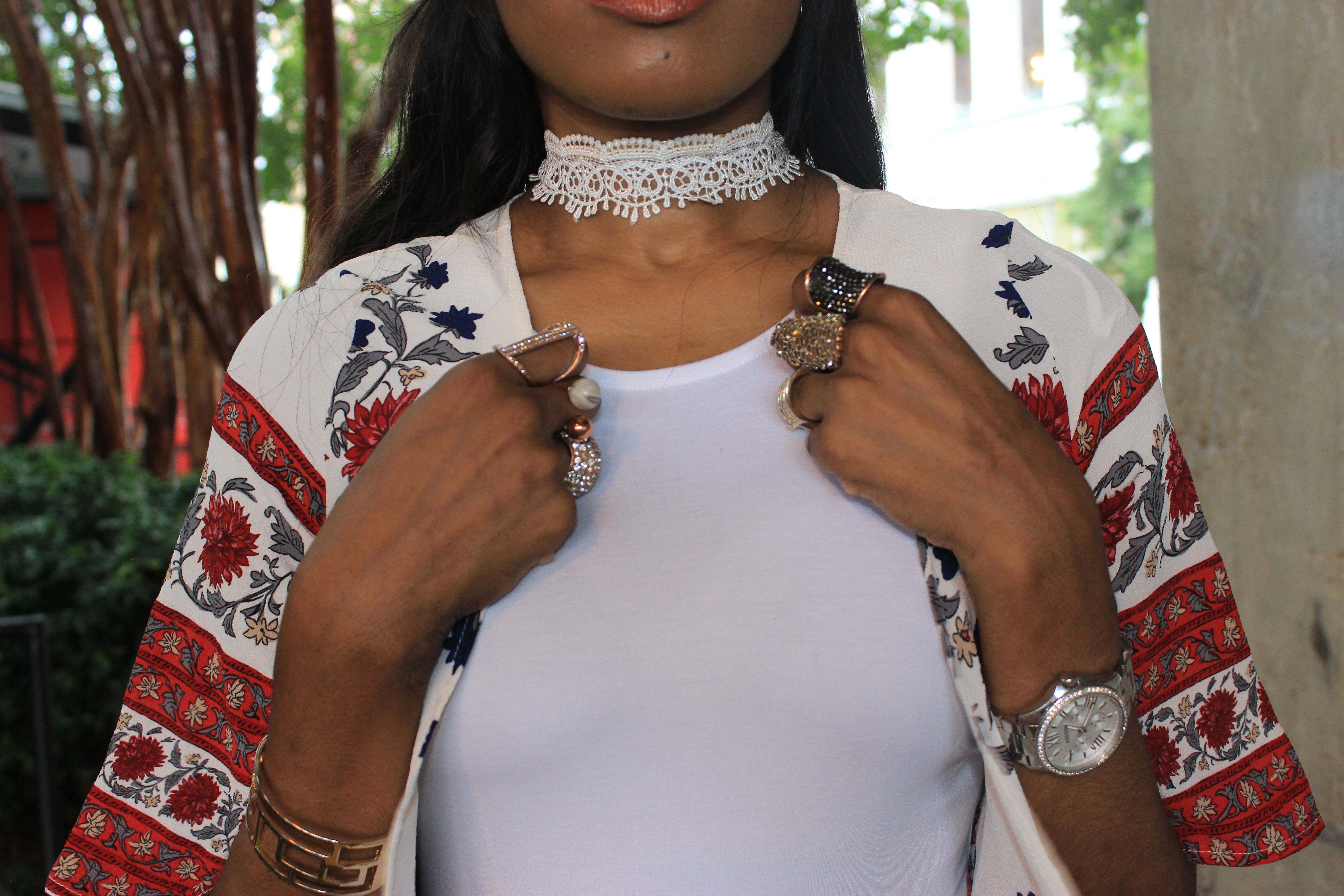 Style-Files-White-forever21-sleeveless-dress-boohoo-Lucy Border Print Maxi Shortsleeve Kimono-Boohoo-ruby-Scalloped Lace Choker-Public-desire-red-lace-uP-heels-forever-21-daisy-headband-oohlalablog-6