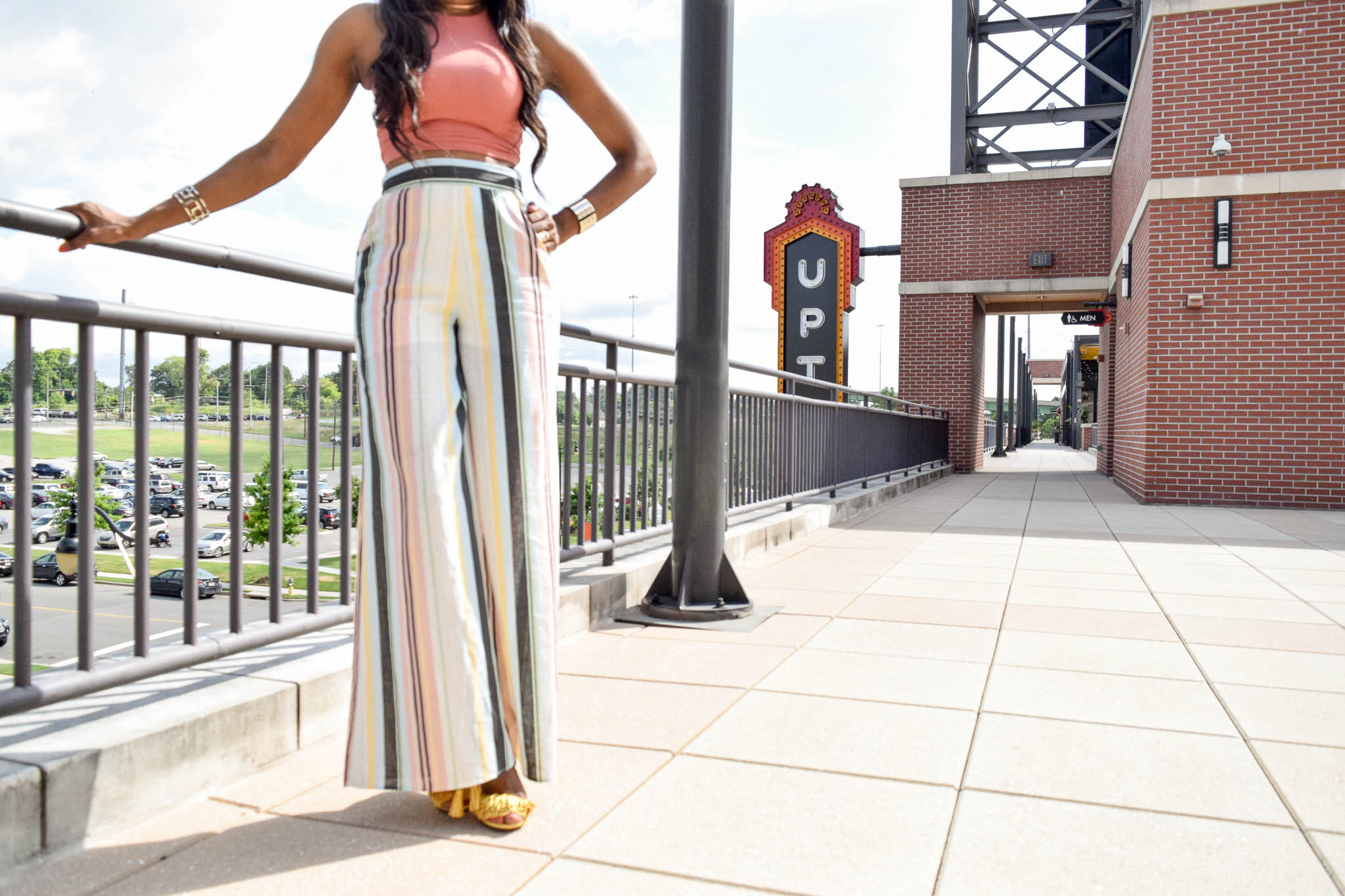 Style-files-target-Women Palazzo-Pant- Striped-  Xhilaration-Xhilaration-striped-wideleg-linen-pants-forever21-crop-racerback-tank-yellow-tayrey-fringe-heels-justfab-yellow-fringe-heels-how-oohlalablog-6