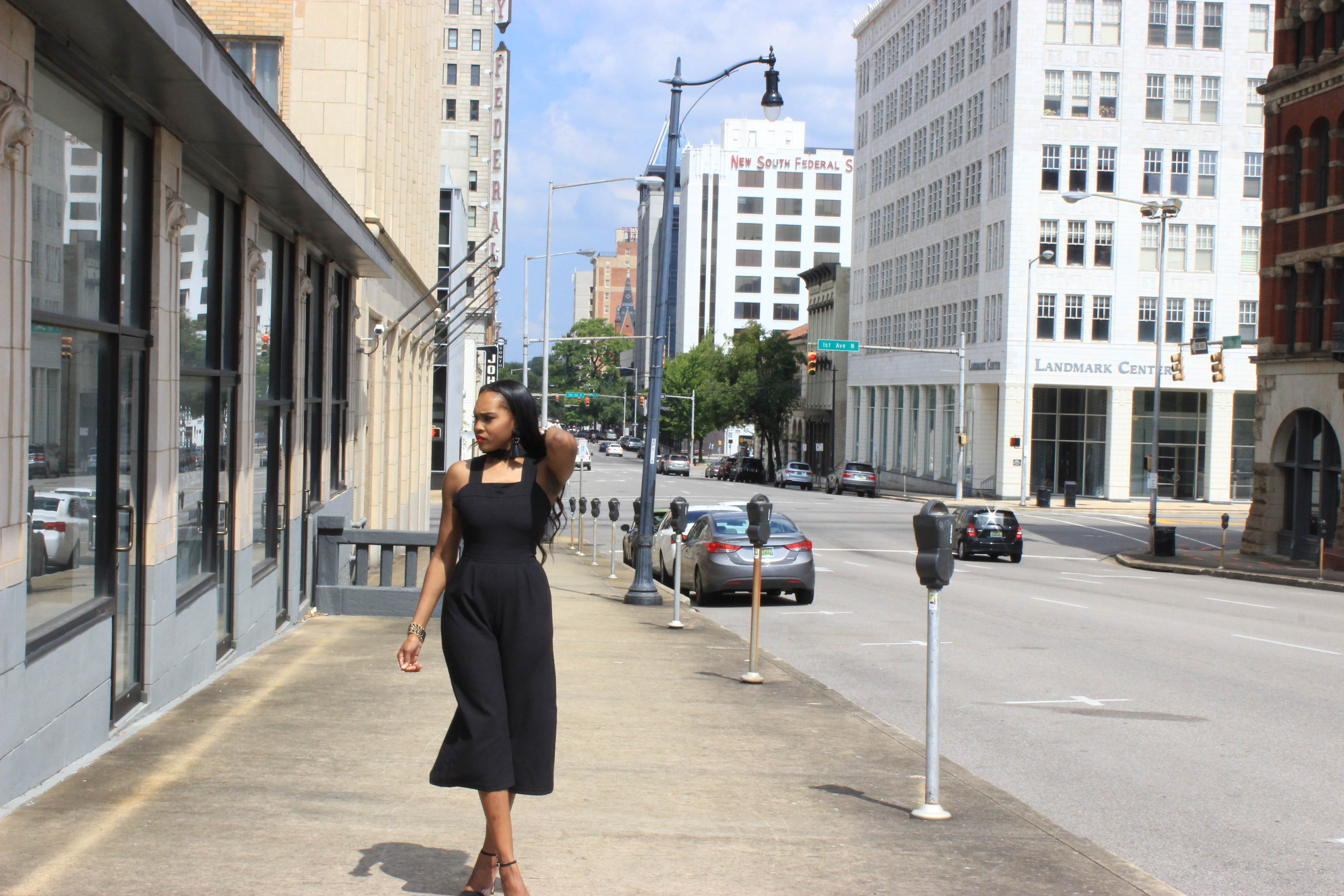 Style-Files-Heart-Soul-black-culotte-jumpsuit-from-Target-how-to-wear-culotte jumpsuit-trend-Zara-vinyl-d-orsay-pumps-oohlalablog-15
