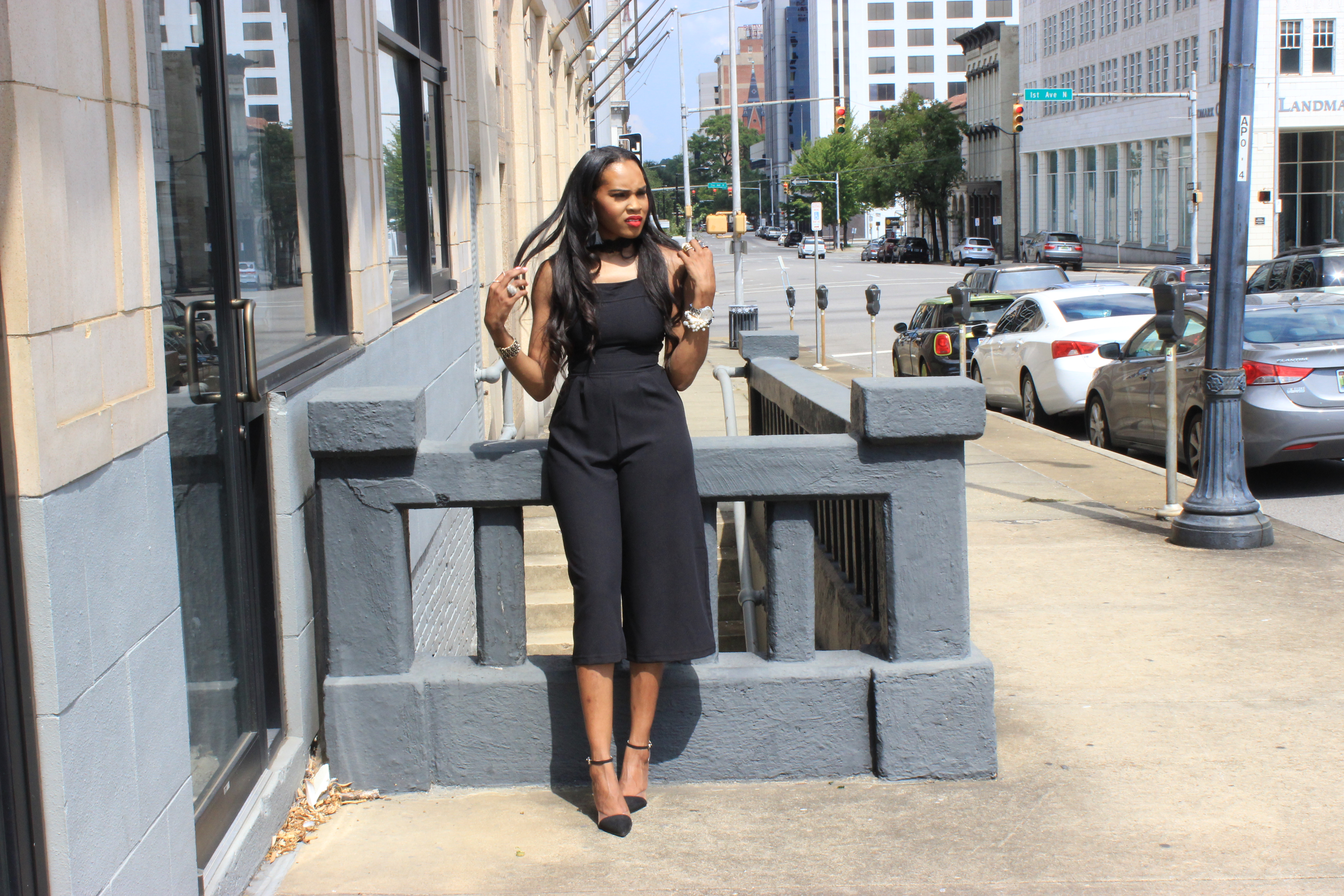 Style-Files-Heart-Soul-black-culotte-jumpsuit-from-Target-how-to-wear-culotte jumpsuit-trend-Zara-vinyl-d-orsay-pumps-oohlalablog-20