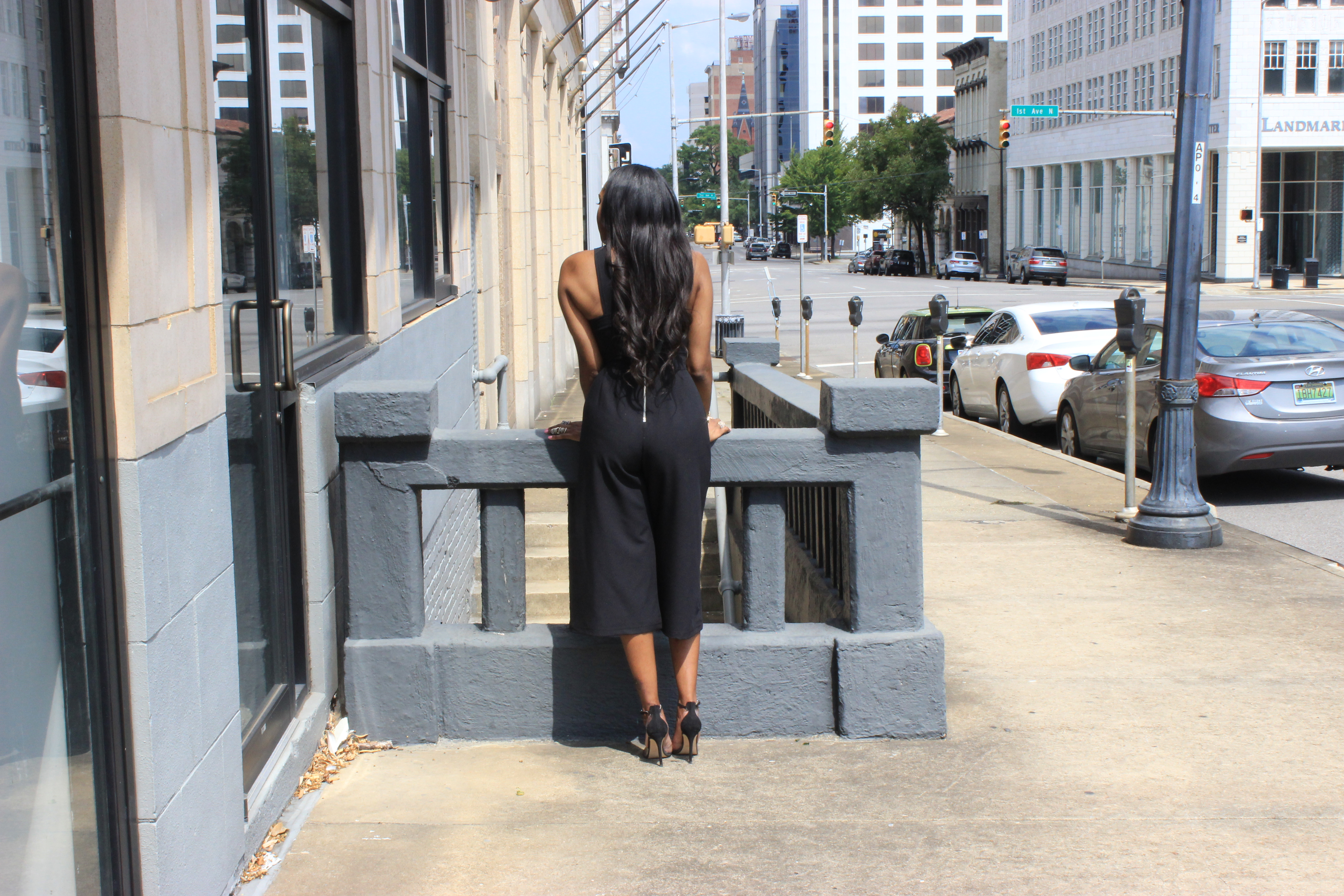 Style-Files-Heart-Soul-black-culotte-jumpsuit-from-Target-how-to-wear-culotte jumpsuit-trend-Zara-vinyl-d-orsay-pumps-oohlalablog-7