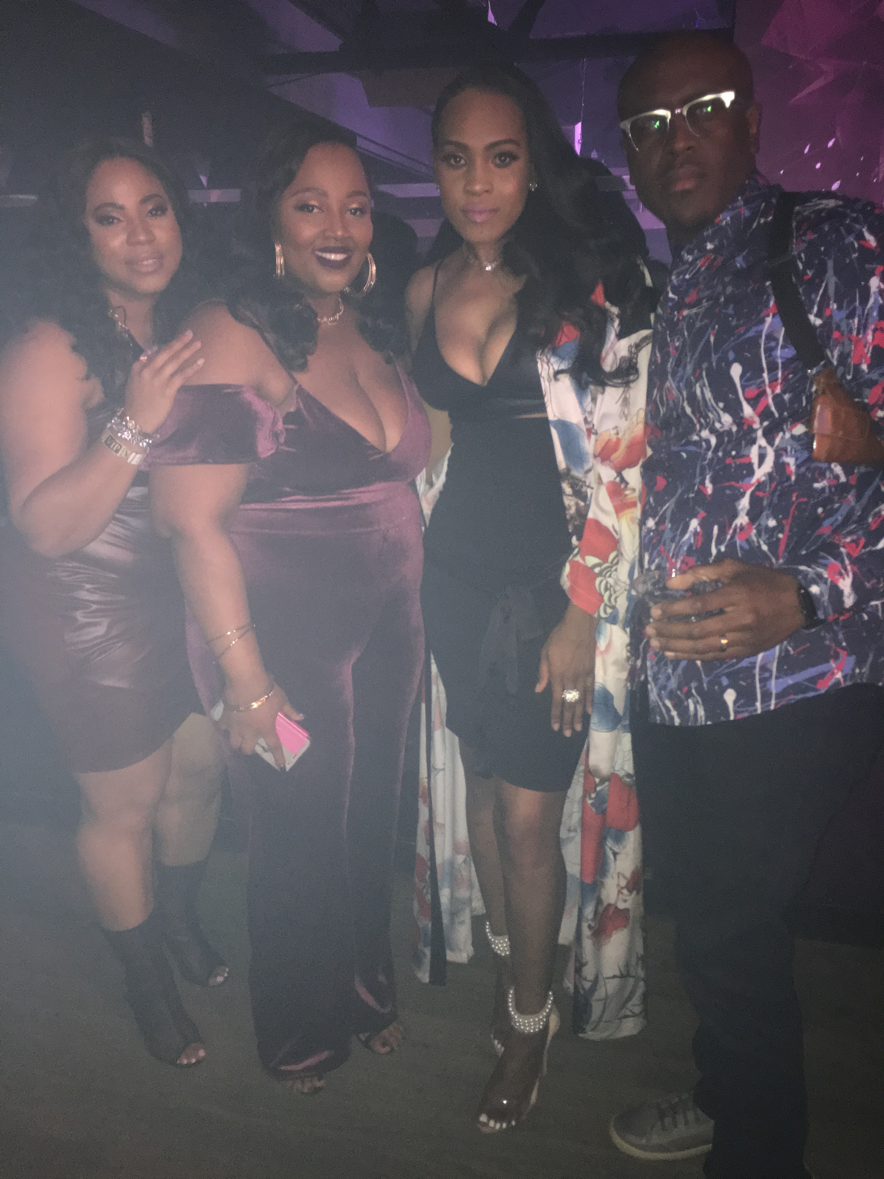 Style-files-shein-Calico-Print-Contrast-Trim-Belted-Maxi-Kimono-Missguided-Peace -Love Nude-Pearl-Strap-Heels-forever21-black-pencil-skirt-forever-21-black-faux-leather-bralette-Tuskegee-university-young-alumni-atlanta-party-oohlalablog-4